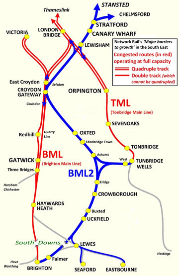 BML2 Route Map