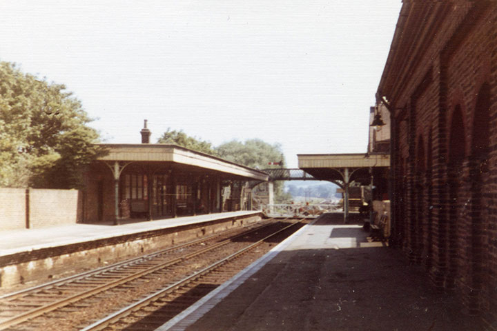 Uckfield Station in 1973