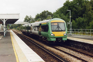 Turbostar at Crowborough