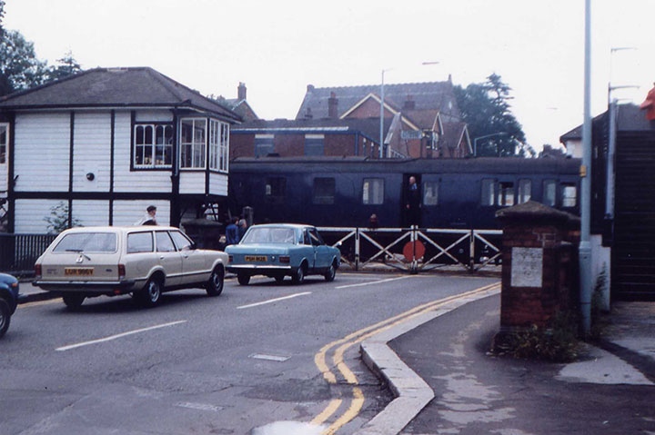 London service leaving Uckfield in 1981